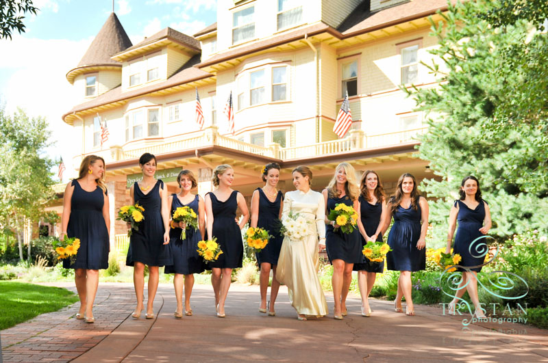 A wedding at The Cliff House at Pikes Peak: Logan and David