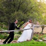 Lee and Jason's Wedding at Glen Eyrie Castle