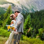 Kristin and Russ' Intimate Mountain Wedding in Breckenridge, CO
