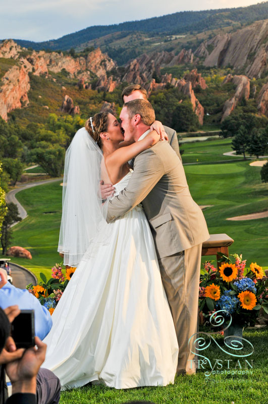 A wedding at Arrowhead Golf Club: Joy and Luke