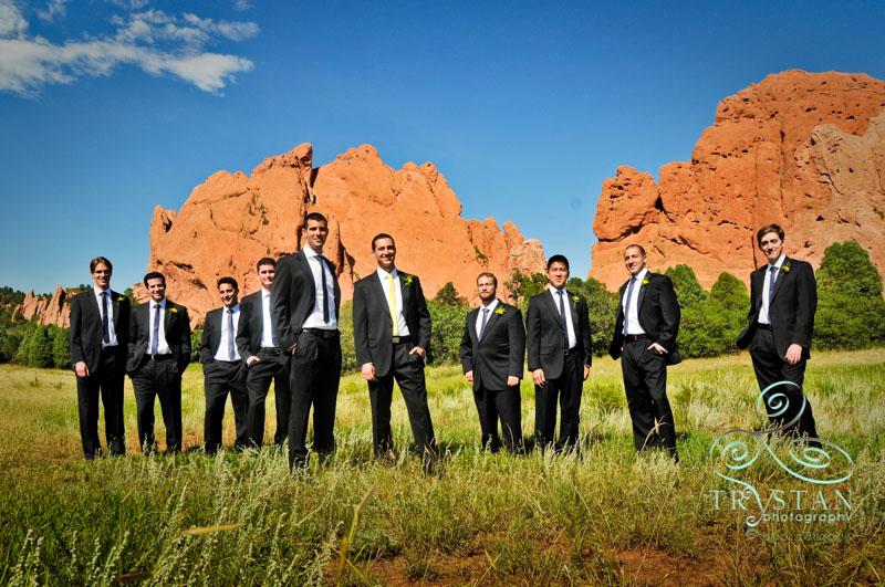 A wedding at The Cliff House at Pikes Peak: Logan and David