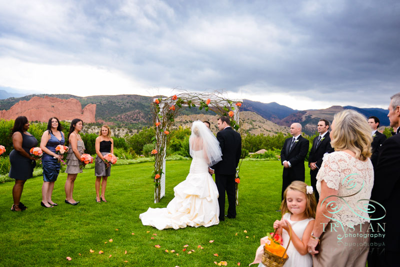 A Wedding at The Garden of the Gods Club: Kristina and Curt