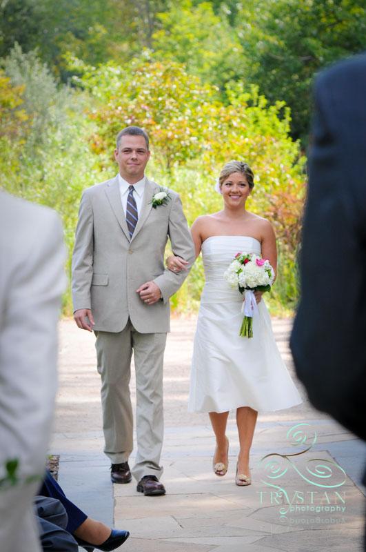 A Wedding at Hudson Gardens