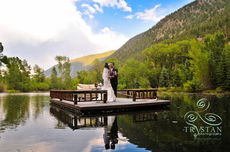 A wedding at Shadows Ranch
