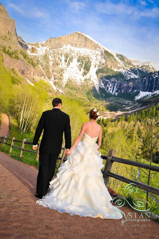 A wedding in Telluride