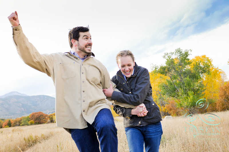 Couples Engagement Portraits in Colorado Springs