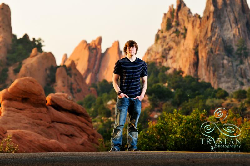 Colorado Springs High School Senior Portraits
