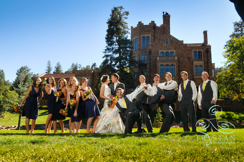 Glen Eyrie Wedding